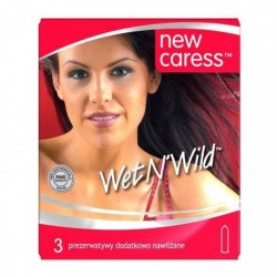 New Caress Wet N`wild lateksowe prezerwatywy 3szt