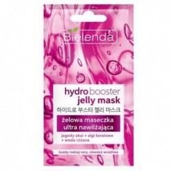 Bielenda Matt Booster Jelly Mask żelowa maseczka ultra nawilżająca dla każdego rodzaju cery 8g