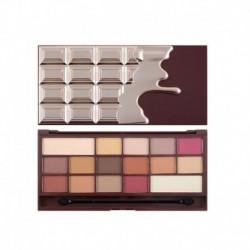 Makeup Revolution Chocolate Elixir paleta 16 cieni 22g