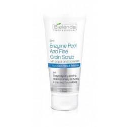 Bielenda Professional Face Enzymatic Fine Grain Scrub Enzymatyczny peeling do twarzy z Papainą i Bromelainą 150g