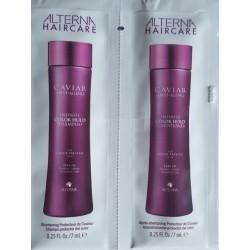 Alterna Caviar Anti-Aging Infinite Color Hold Shampoo + Conditioner Szampon i odżywka do włosów 2x7ml