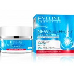 Eveline Aqua Hybrid Gel Formula Nawilżający krem-żel dla cery naczynkowej na dzień 50ml