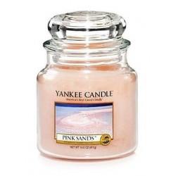 Yankee Candle Med Jar Średnia świeczka zapachowa Pink Sands 411g