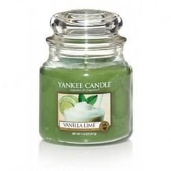 Yankee Candle Small Jar Mała świeczka zapachowa Vanilla Lime 104g