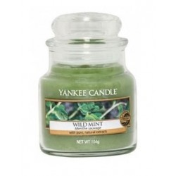 Yankee Candle Small Jar Mała świeczka zapachowa Wild Mint 104g