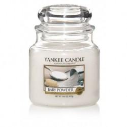 Yankee Candle Small Jar Mała świeczka zapachowa Baby Powder 104g