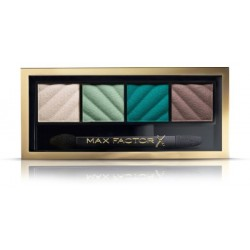 Max Factor Smokey Eye Matte Drama Kit 2in1 Eyeshadow And Brow Powder Cienie do powiek i brwi 40 Hypnotic Jade