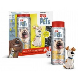 Corsair The Secret Life Of Pets Bubble Bath & Bath Squirter Płyn do kąpieli z zabawką 250ml