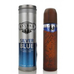 Cuba Silver Blue Woda toaletowa 100ml spray