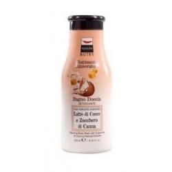 Aquolina Nutry Bagno Doccia Silkening Body Wash Jedwabny żel pod prysznic Sugarcane & Coconut Natural Extracts 250ml