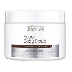 Bielenda Professional Body Program Sugar Body Scrub Cukrowy peeling do ciała Brown Cane Sugar & Grapefruit Oil 600g