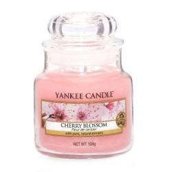 Yankee Candle Small Jar Mała świeczka zapachowa Cherry Blossom 104g