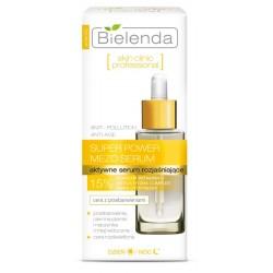 Bielenda Skin Clinic Professional Aktywne serum rozjaśniające dla cery z przebarwieniami dzień/noc 30ml