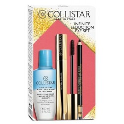 Collistar Infinite Seduction Eye Płyn do demakijażu 50ml + Tusz do rzęs 11ml + Kredka do oczu
