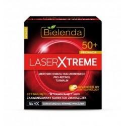 Bielenda Laser Xtreme 50+ Liftingująco-wygładzający krem na noc 50ml