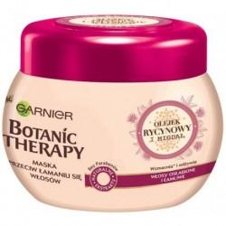 Garnier Botanic Therapy Maska wzmacnia włosy łamliwe Olejek Rycynowy i Migdał 300ml