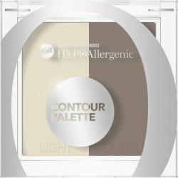 Bell HypoAllergenic Contour Palette Hypoalergiczna paleta do konturowania twarzy 01 10g