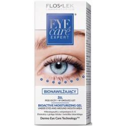 Floslek Eye Care Expert żel bionawilżający pod oczy i w okolice ust 30ml