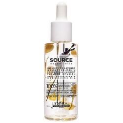 L`Oreal Source Essentielle Nourishing Oil Odżywczy olejek do włosów suchych i wrażliwych Lavender & Jasmine 70ml