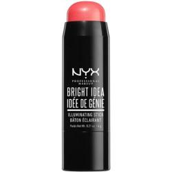 NYX Bright Idea Illuminating Stick Rozświetlacz w sztyfcie Rose Petal Pop 6g