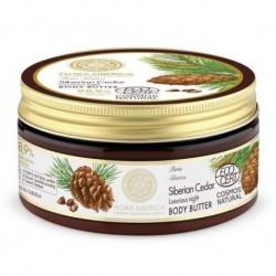 Siberica Professional Flora Siberica Body Butter Naturalne masło do ciała odżywcze z sosną syberyjską 300ml