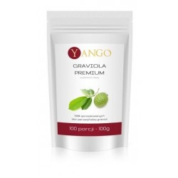 Yango Graviola Premium 100% sproszkowanych liści peruwiańskiej gravioli 100g