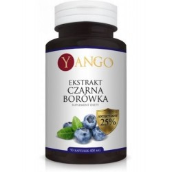 Yango Suplement diety Ekstrakt Czarna Borówka 90x400mg
