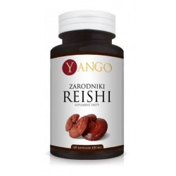Yango Suplement diety Zarodniki Reishi 100x450g
