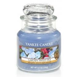 Yankee Candle Small Jar Mała świeczka zapachowa Garden Sweet Pea 104g