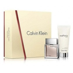 Calvin Klein Euphoria Men Woda toaletowa 50ml spray + Żel pod prysznic 100ml