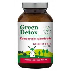 Aura Herbals Suplement diety sproszkowany Green Detox 90g