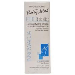 Biały Jeleń Hypoallergenic PRObiotic Innowacja specjalistyczna emulsja do mycia twarzy 175ml