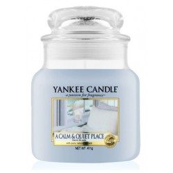 Yankee Candle Med Jar Średnia świeczka zapachowa A Calm & Quiet Place 411g
