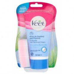 Veet Silk&Fresh krem do depilacji pod prysznic dla skóry wrażliwej 135ml