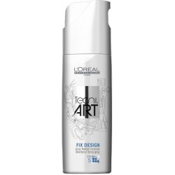 L`Oreal Tecni Art Fix Design Directional Fixing Spray Precyzyjny spray do miejscowego utrwalenia Force 5 200ml