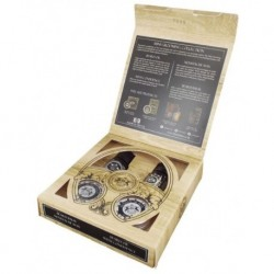 Dear Barber Mini Grooming Collection Mini Zestaw do pielęgnacji brody Balsam + Olejek + Wosk + Woda toaletowa