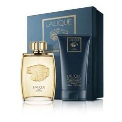 Lalique Lion Woda perfumowana 125ml spray + Żel pod prysznic 150ml