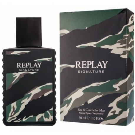 Replay Signature Man Woda toaletowa 30ml spray