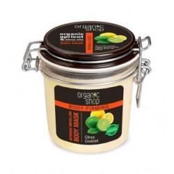 Organic Shop Body Firming Organic Apricot & Citrus Oils Body Mask Modelująca maska do ciała 350ml