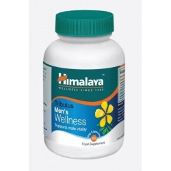 Himalaya Herbal Healthcare Men`s Wellness suplement diety wspierający męską witalność Tribulus 60 kapsułek