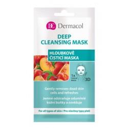 Dermacol 3D Deep Cleansing Mask Głęboko oczyszczająca maseczka do twarzy na tkaninie 15ml