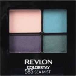 Revlon ColorStay 16 Hour Eye Shadow Quad Poczwórne cienie do powiek 585 Sea Mist 4,8g