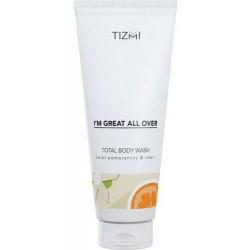 Tizmi Total Body Wash Żel pod prysznic Kwiat Pomarańczy & Imbir 200ml