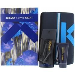 Kenzo Homme Night Woda toaletowa 100ml spray + Żel pod prysznic 50ml + Kosmetyczka