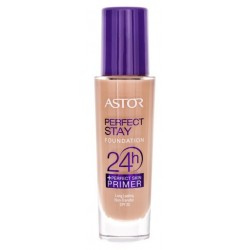 Astor Perfect Stay 24H Foundation + Perfect Skin Primer SPF20 Podkład do twarzy i baza 203 Peachy 30ml