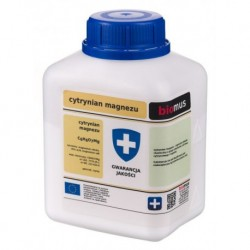 Biomus Cytrynian Magnezu czysty 250g