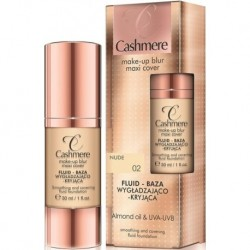 Cashmere Cashmere Make-Up Blur Maxi Cover Fluid - Baza wygładzająco-kryjąca 02 Nude 30ml