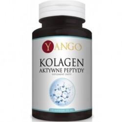 Yango Kolagen Aktywne Peptydy 330mg Suplement diety 120 kapsułek