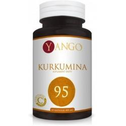 Yango Kurkumina 400mg Suplement diety 60 kapsułek