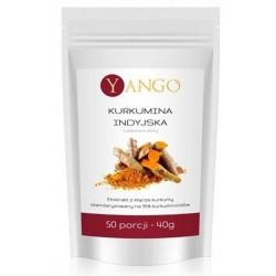 Yango Kurkumina Indyjska Suplement diety 40g